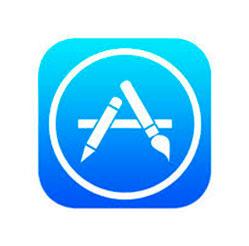 Vista del Icono de App Store al momento de descargar aplicaciones