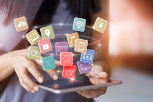 imagen que representa todas las aplicaciones que se pueden tener una tablet