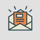 icono de newsletter en un sobre