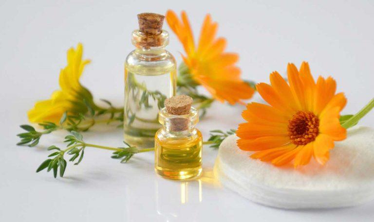 aceites esenciales y calendula
