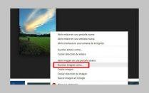 cómo guardar imagen desde Internet