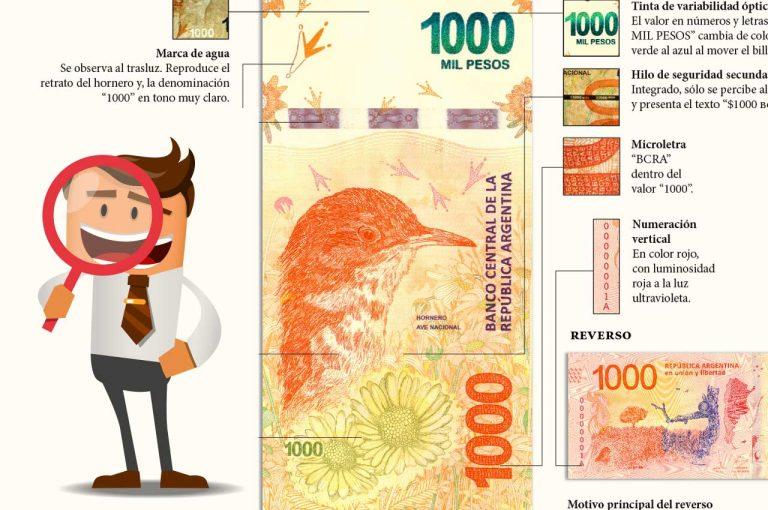 1000 pesos evitar fraude