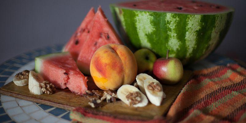 frutas hidratantes