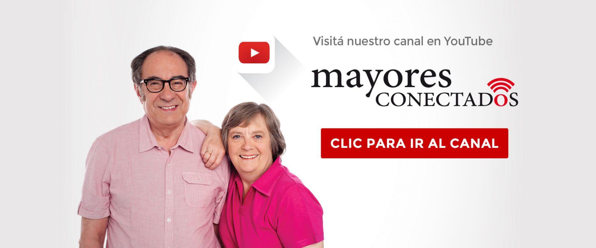 Canal de YouTube Mayores Conectados