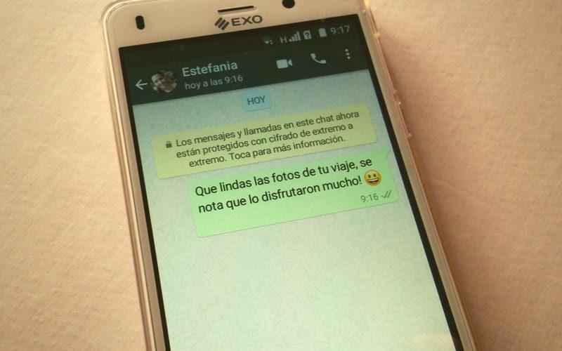 como reenviar mensaje en whatsapp