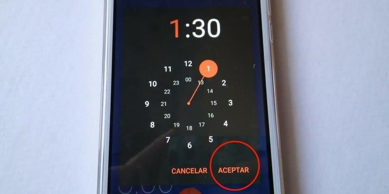como usar la alarma en el celular exo spanky