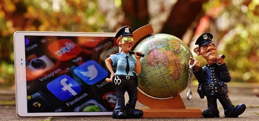 Para protegerse de fraudes en Internet hay policía que vigilan el delito informático