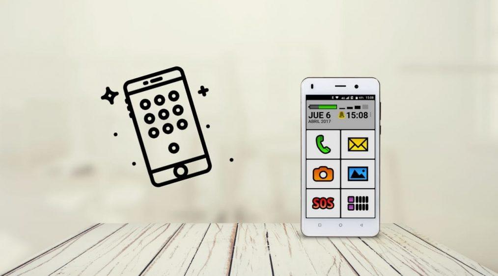 funciones del menu deslizable del celular exo spanky