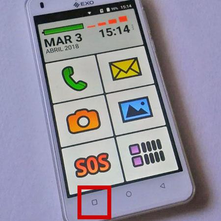 configurar celular EXO Spanky Fácil 4G