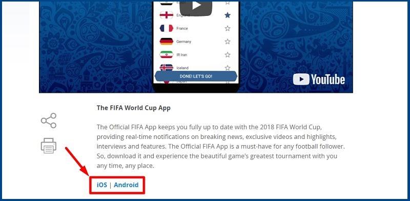 imagen indicadora para descargar app de Fifa