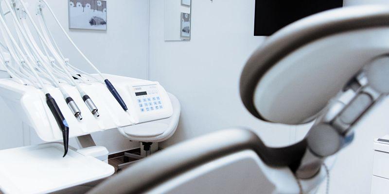 consultorio dental para el cuidado de la salud bucal