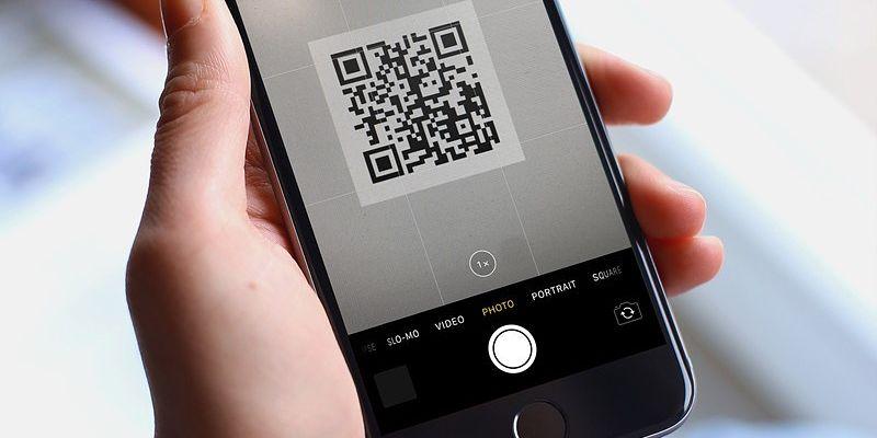 código qr en un smartphone