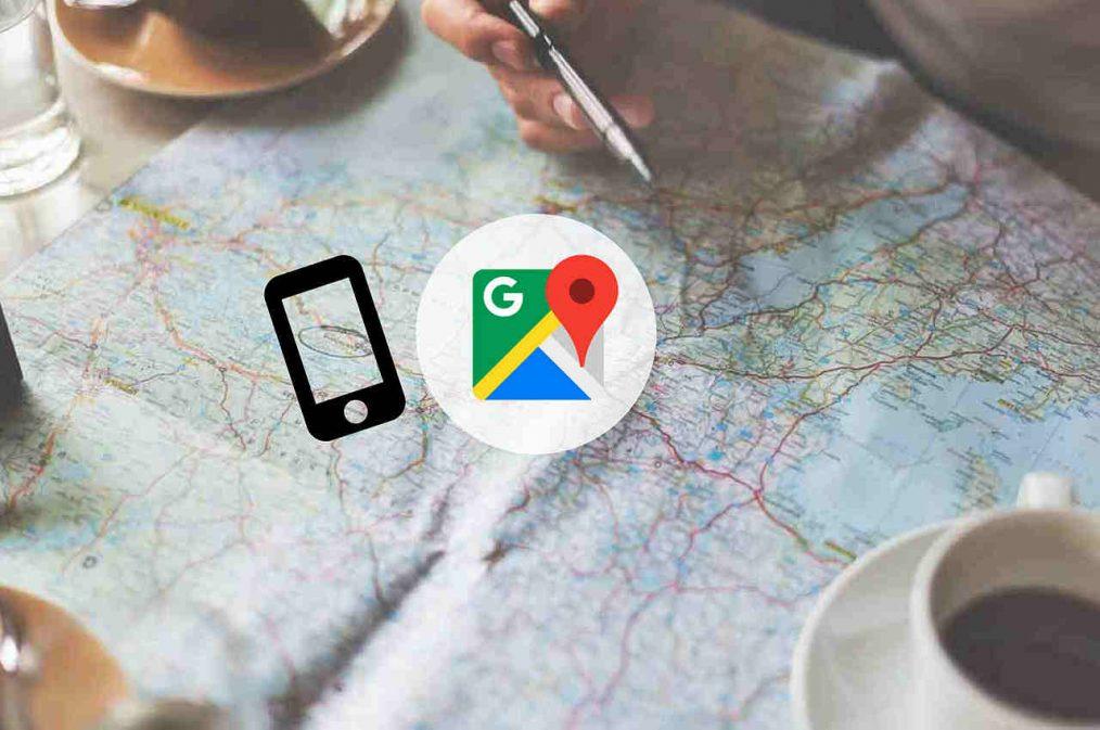 cómo usar google maps