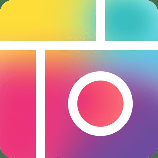 logo del editor de fotos pic collage