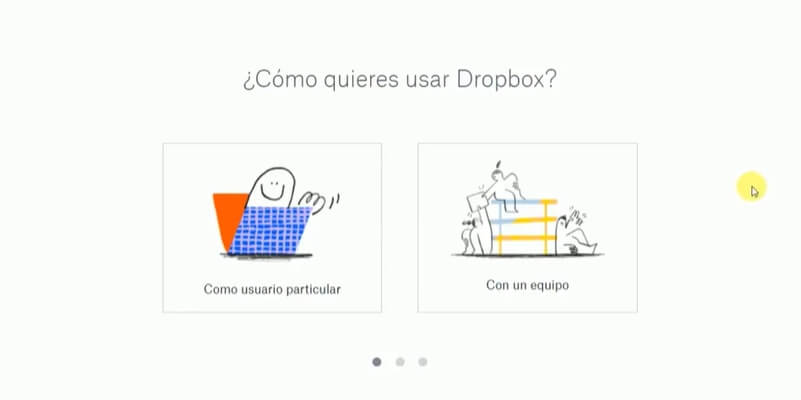 como usar dropbox