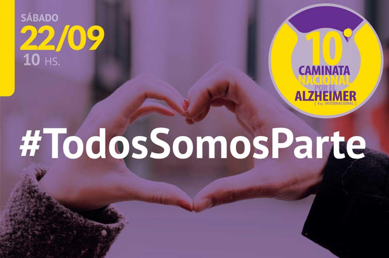 Fundación INECO 10° Caminata Nacional por el Alzheimer (4°edición internacional)