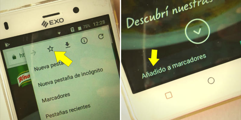 como-guardar-paginas-favoritas-en-chrome-en-celular