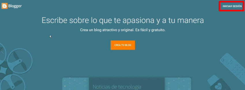 como crear tu propio blog