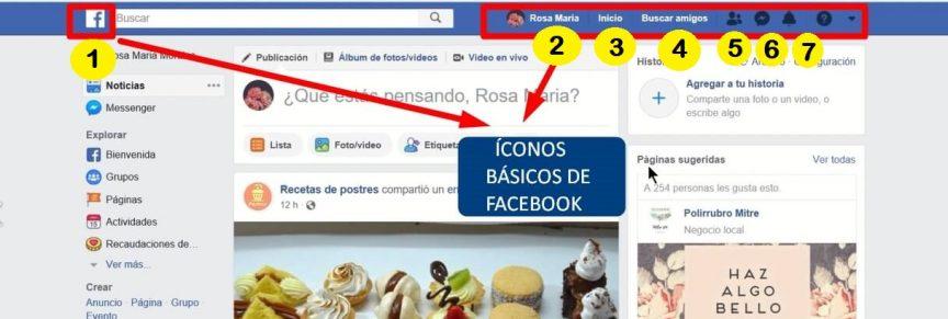 funciones basicas en facebook