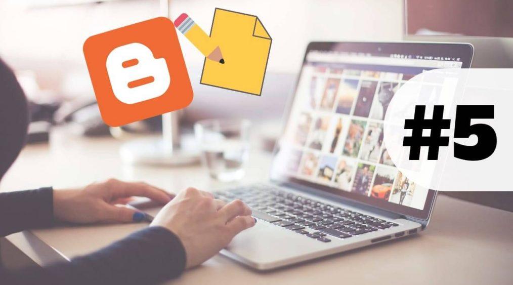 como crear una entrada en blog de blogger