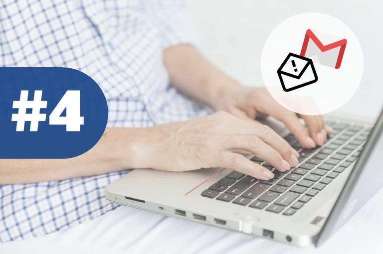 gestionar correo spam de gmail