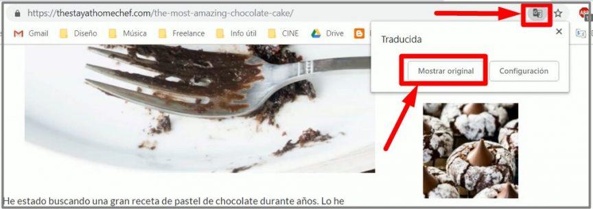 como traducir una página en google chrome