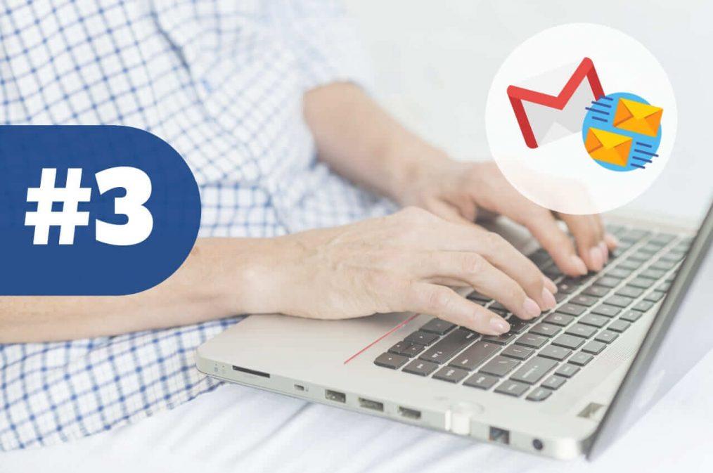 las pestañas de gmail