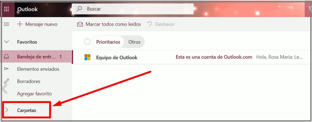 correo spam de outlook