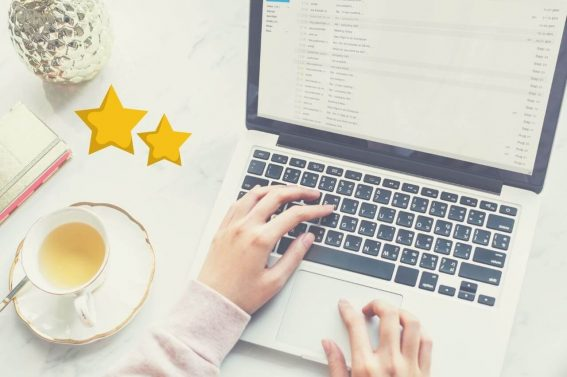 cómo puntuar notas del blog
