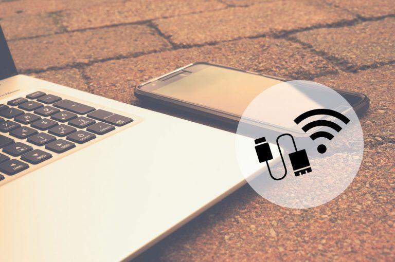 como pasar internet del celular a la computadora con usb