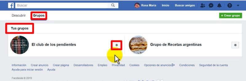como abandonar un grupo de facebook