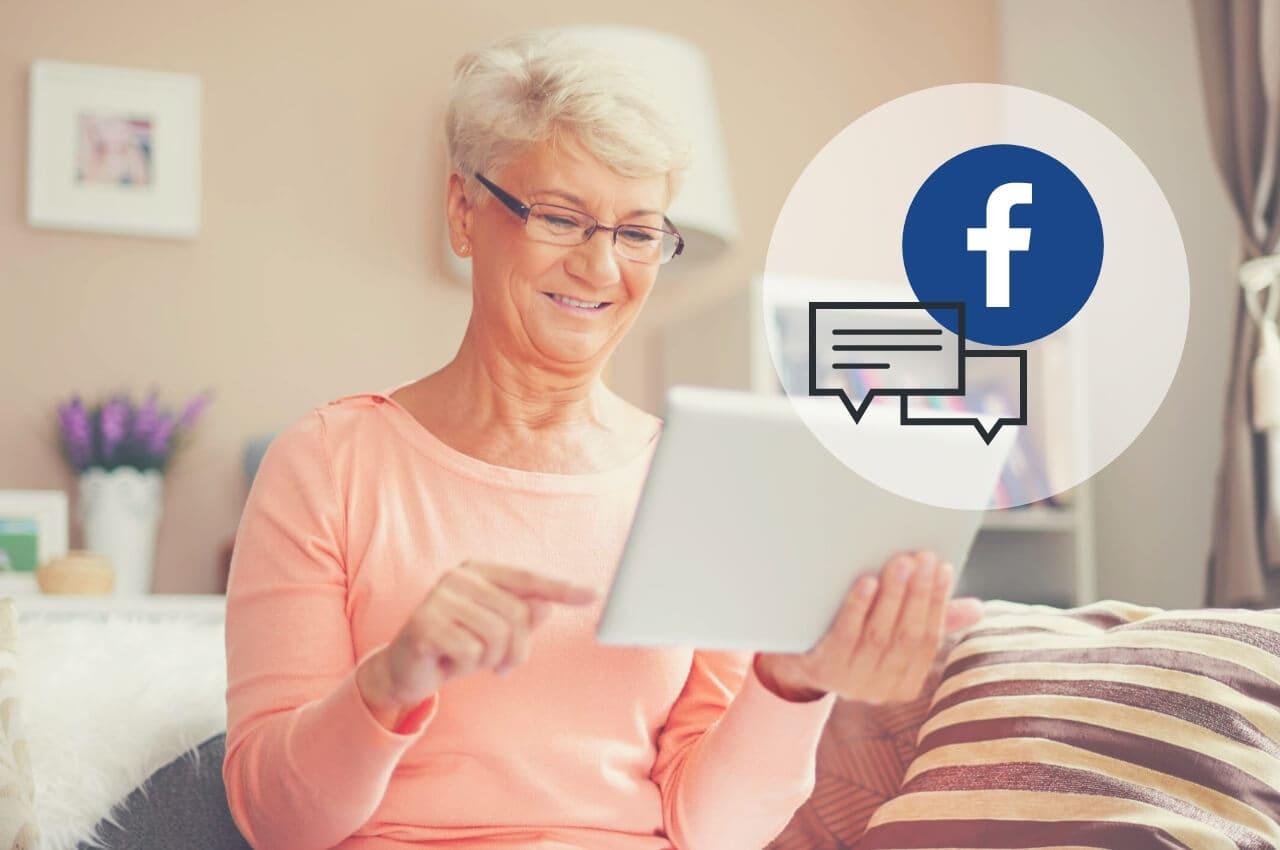 participar en grupo de facebook