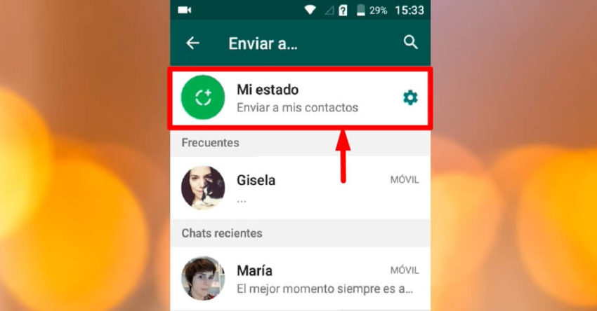 foto de facebook como estado de whatsapp