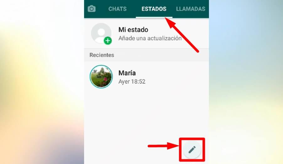 Trucos para los estados de WhatsApp