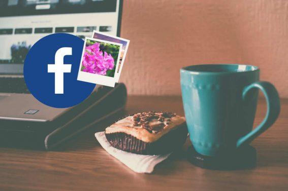 como crear album fotos facebook