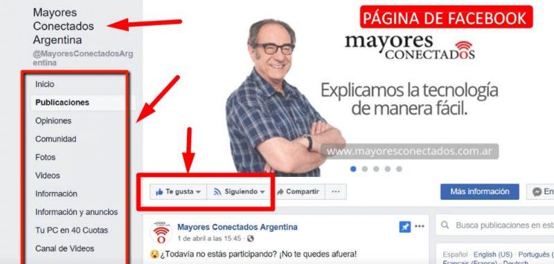 diferencia pagina y grupo de facebook