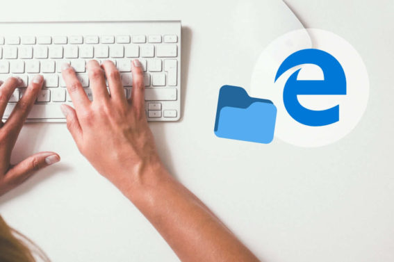 encontrar descargas de microsoft edge