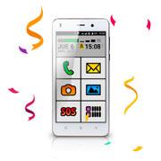 Smartphone EXO Spanky Fácil 4G