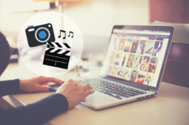 como crear un video con fotos