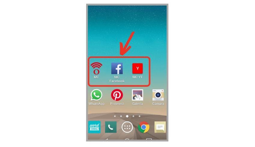 como crear iconos en el celular