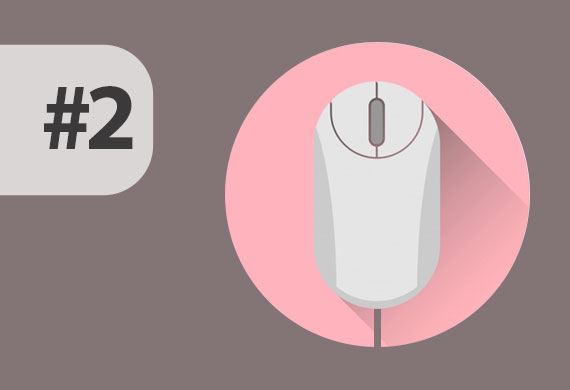 Cómo usar el mouse