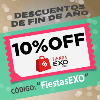 banner descuento 10% en Tienda EXO