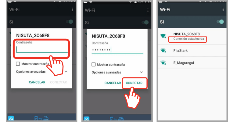 como conectarte al wifi