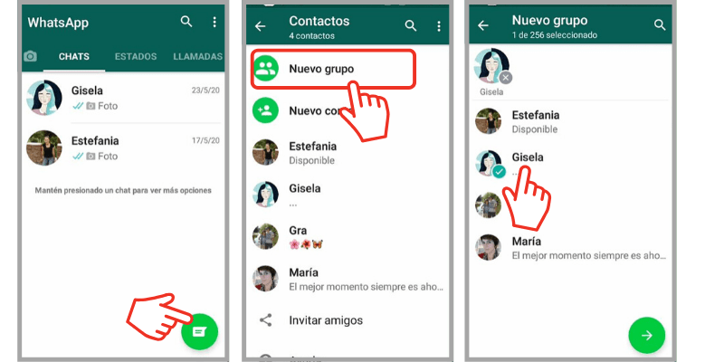 guardar anotaciones en whatsapp