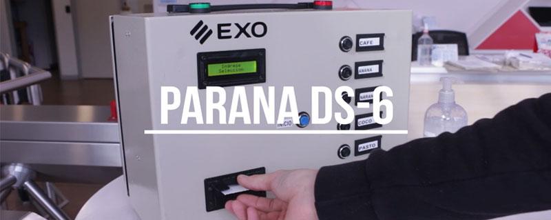 Sistema para Detección de Sensopercepción Olfativa EXO PARANA DS-6