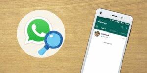 lupa de busqueda de whatsapp