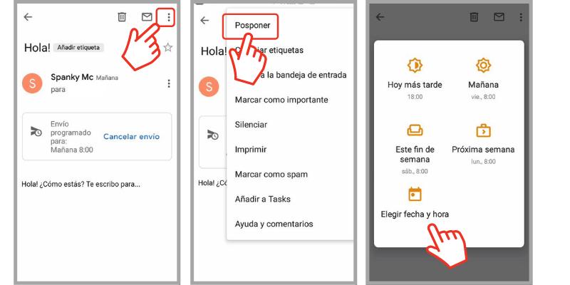 programar correos en gmail