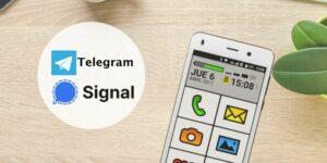 signal y telegram