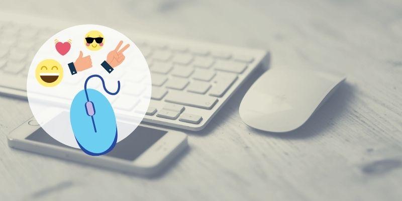Cómo insertar emojis con el mouse 😍