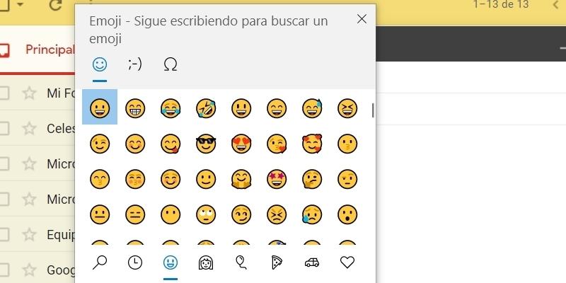 insertar emojis